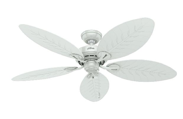Hunter Bayview 54 White Ceiling Fan 54097