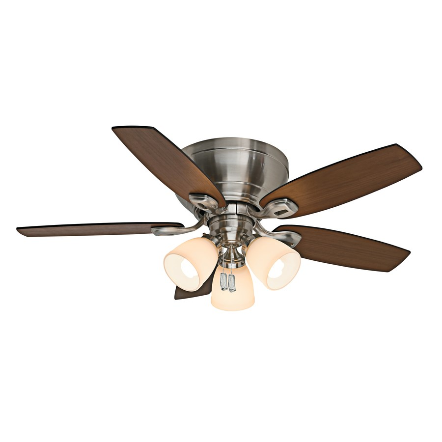 Casablanca Durant Brushed Nickel Ceiling Fan