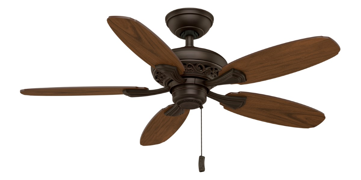 Casablanca Fordham Brushed Cocoa Ceiling Fan