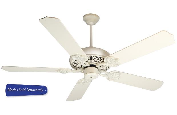 "Craftmade 42-52"" White Ceiling Fan (CC52AWD)"
