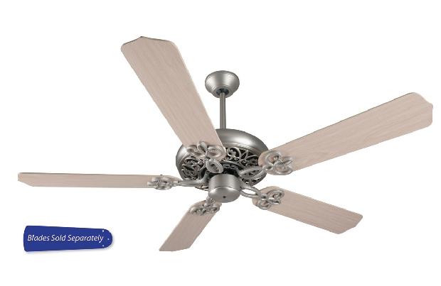 "Craftmade 42-52"" Brushed Satin Nickel Ceiling Fan (CC52BN)"