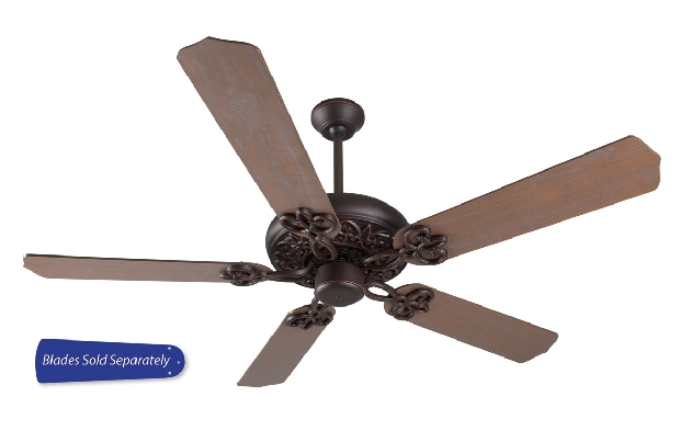 """Craftmade 42-52"""" Oiled Bronze Gilded Ceiling Fan (CC52OBG)"""