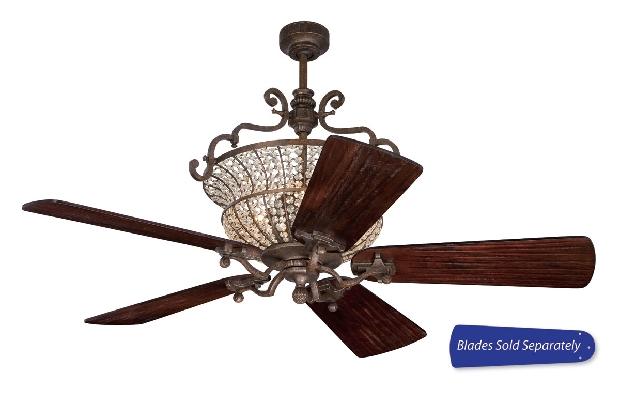 """Craftmade 52-56"""" Peruvian Bronze Ceiling Fan (CR52PR)"""