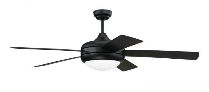Craftmade Cronus Flat Black Ceiling Fan