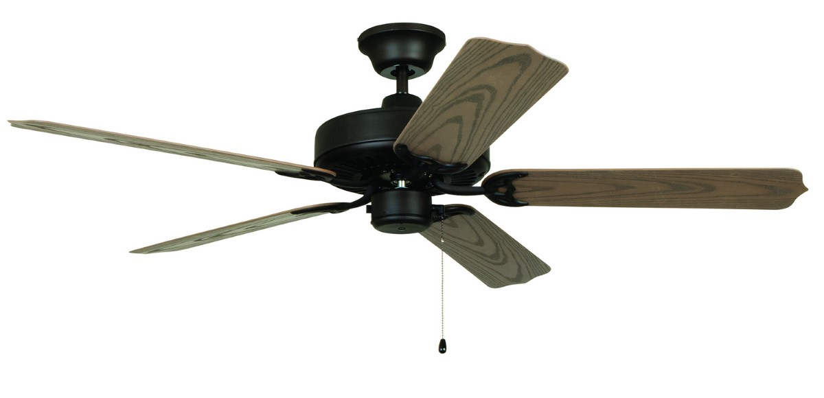 "Craftmade Enduro 52"" Bronze Ceiling Fan (END52ABZ5X)"