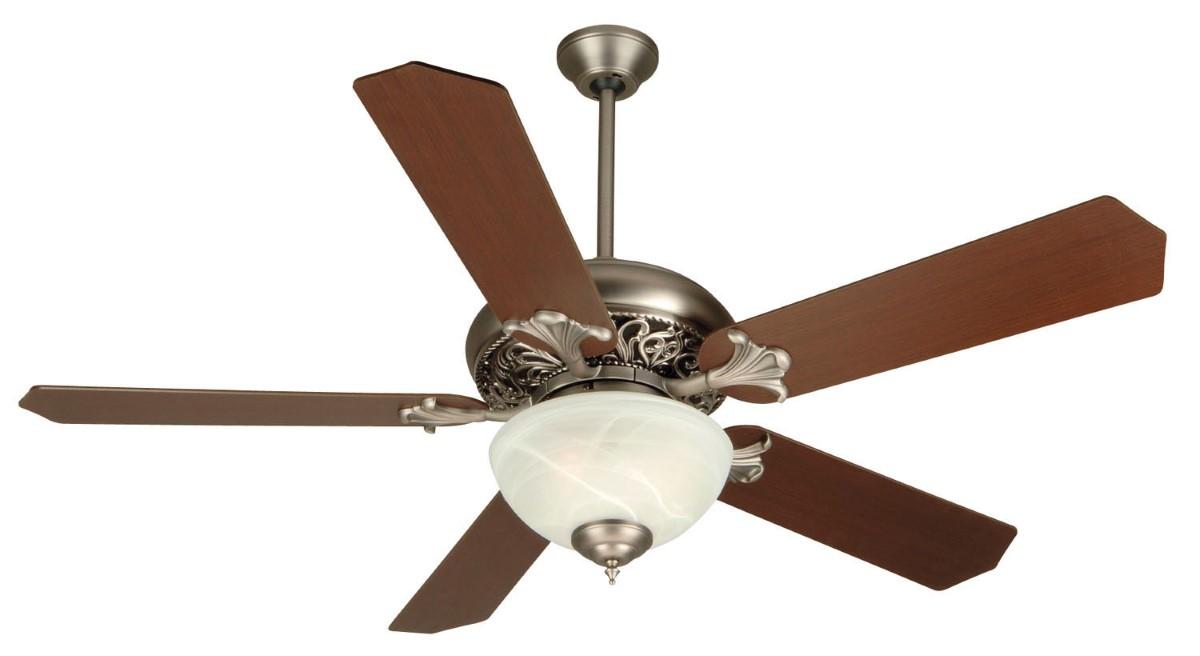 "Craftmade Mia 52"" Antique Nickel Ceiling Fan (K10326)"