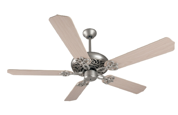 "Craftmade Cecilia 52"" Nickel Ceiling Fan (K11138)"