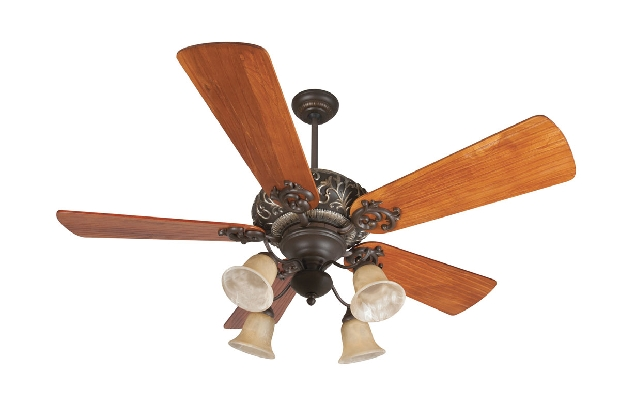 "Craftmade Ophelia 54"" Bronze Ceiling Fan (K11150)"