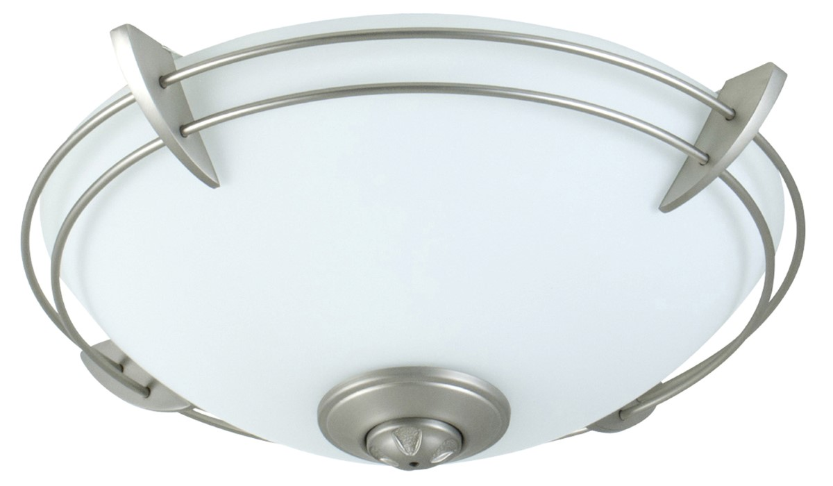 Craftmade LED Bowl Light Kit with Opal Frost Glass - Brushed Satin Nickel (LK207-BN-LED)