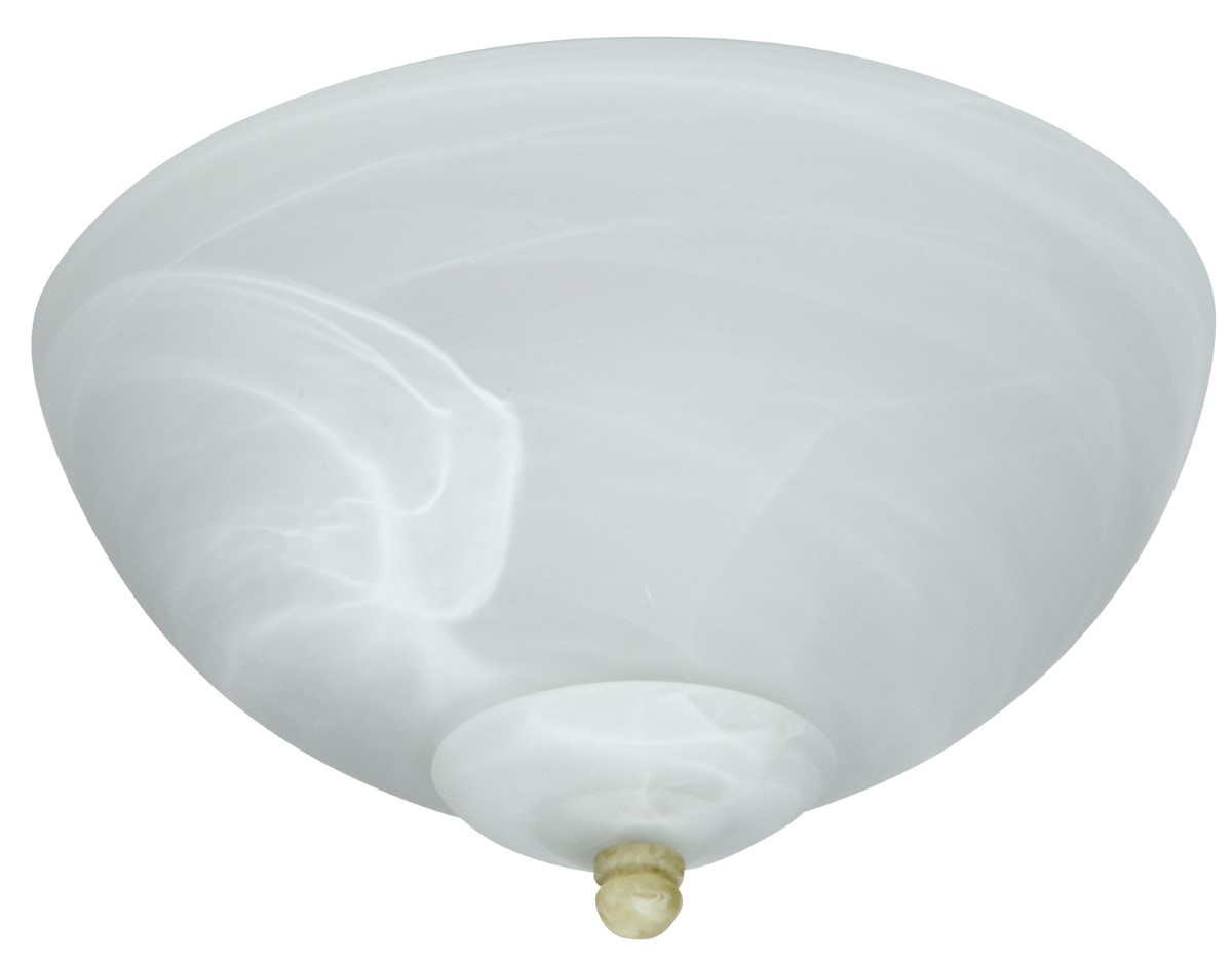 Craftmade Universal LED Bowl Light Kit with Alabaster Glass (LK215-LED)