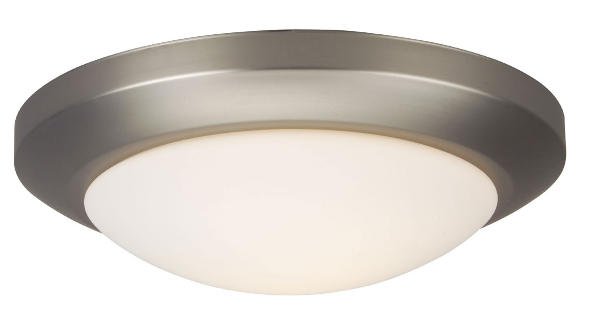 Craftmade LED Bowl Light Kit with Cased Frost White Opal Glass - Brushed Nickel (LKH2020-BN-LED)