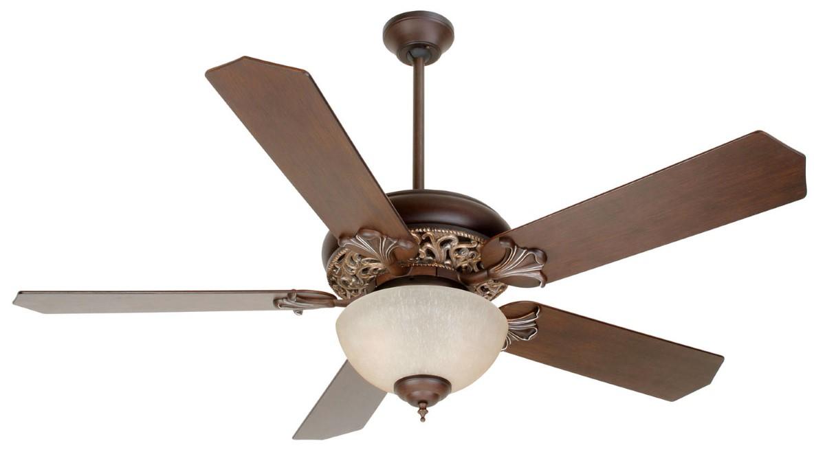 "Craftmade 44-56"" Bronze Ceiling Fan (MI52AGVM)"