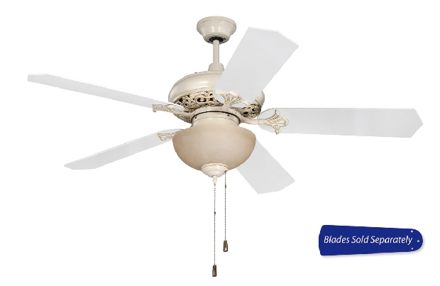 "Craftmade 44-56"" White Ceiling Fan (MI52AWD)"