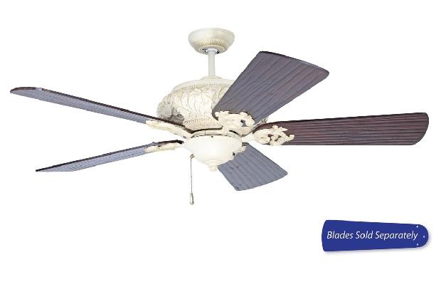 "Craftmade 44-56"" White Ceiling Fan (OA52AWD)"