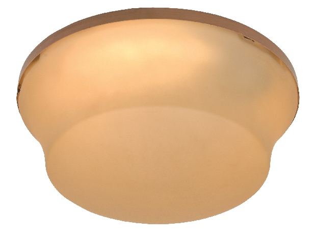 Craftmade Outdoor Damp Bowl Light Kit with Amber Glass - Aged Bronze Textured (OLK124CFL-AG)