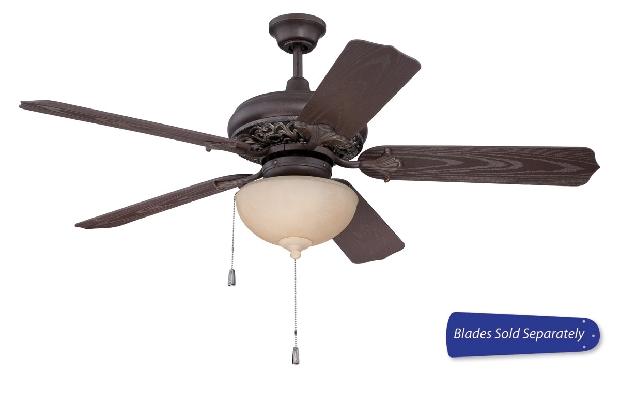 "Craftmade 44-56"" Bronze Ceiling Fan (OMI52AGVM)"