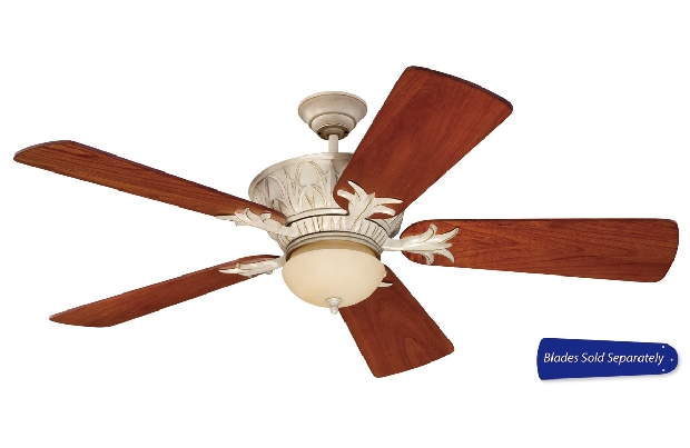"""Craftmade 44-56"""" White Ceiling Fan (PV52AWD)"""