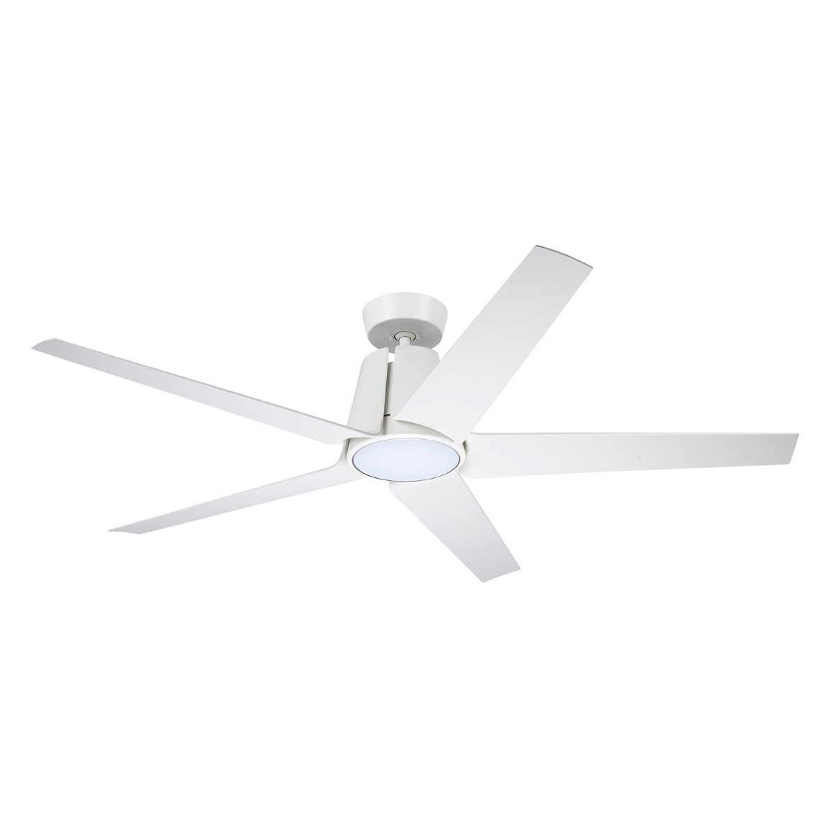Emerson Floret Eco Satin White Ceiling Fan
