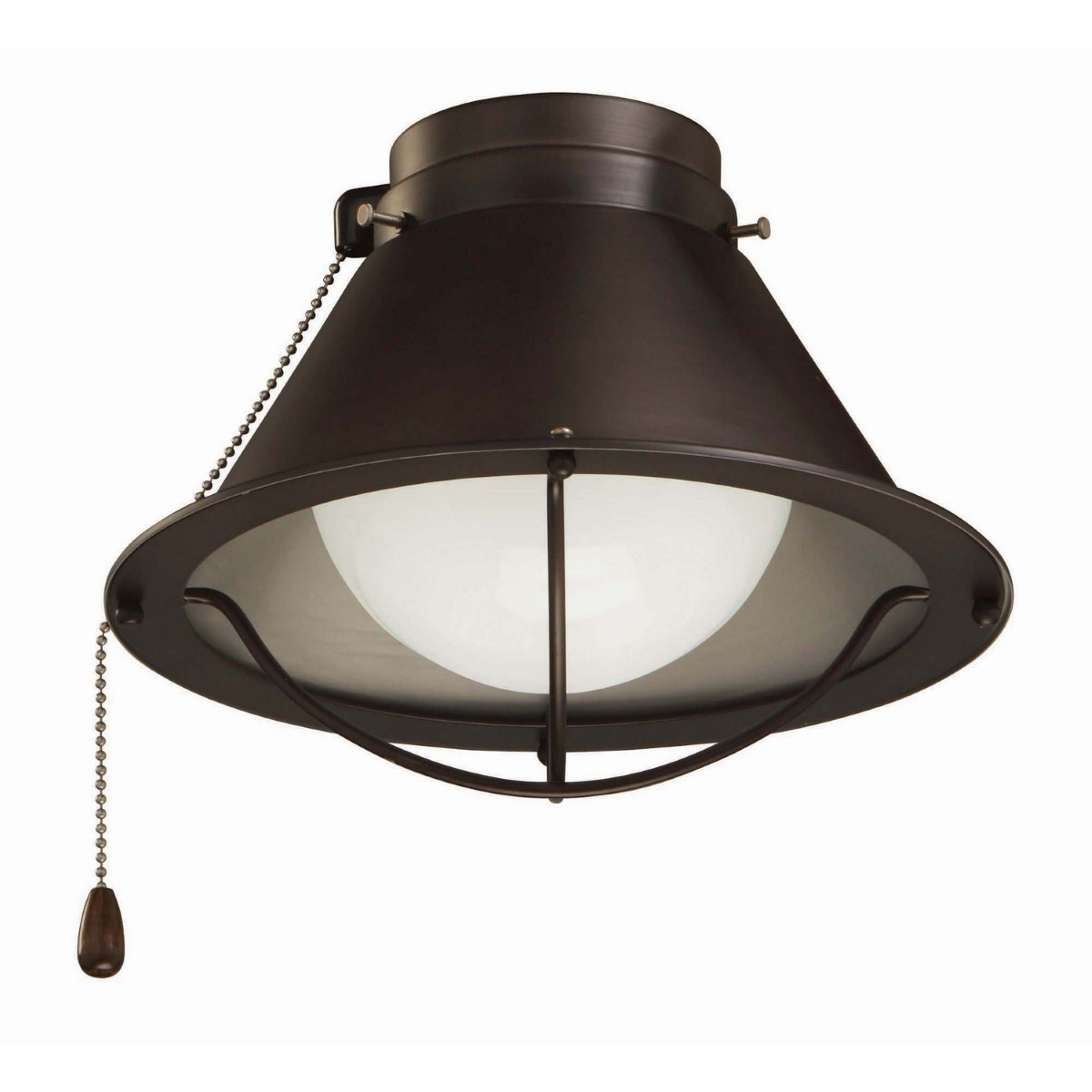 Emerson Seaside Outdoor Wet LED Light Kit with Opal Matte Shade - Oil-Rubbed Bronze (LK46ORB)
