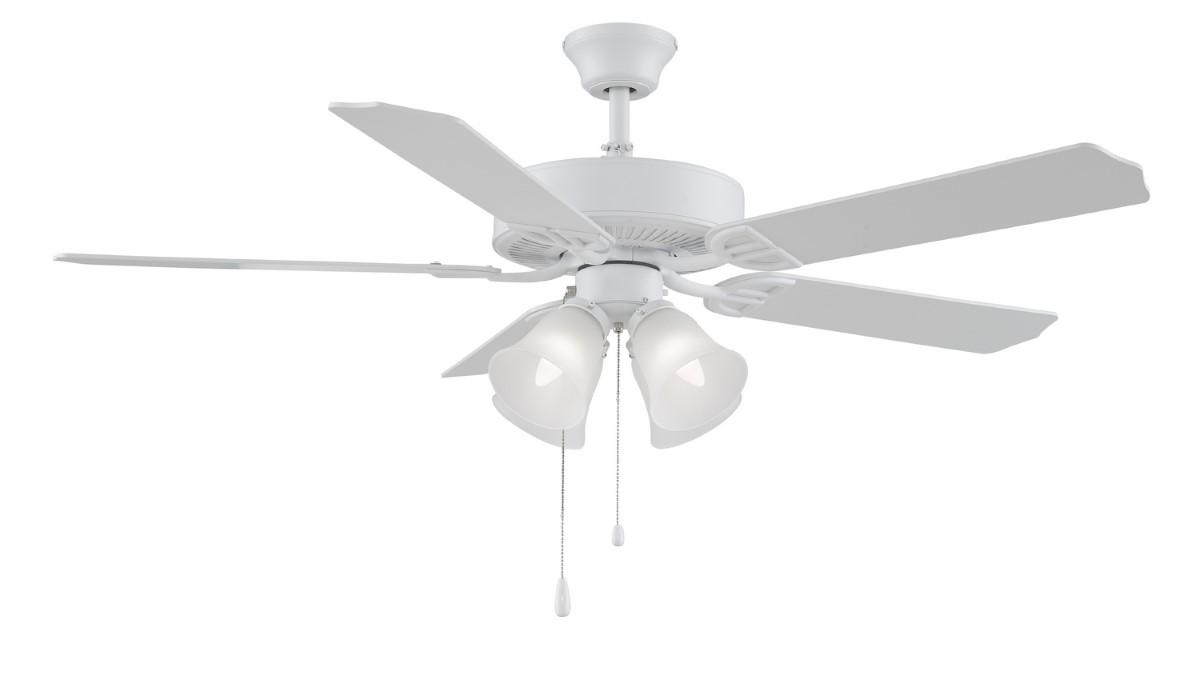 Fanimation Aire Decor White Ceiling Fan 4 LED
