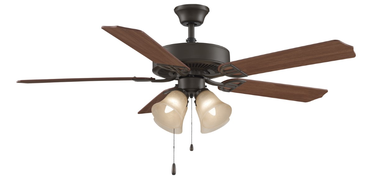 Fanimation Aire Decor Bronze Fan 4 Amber LED