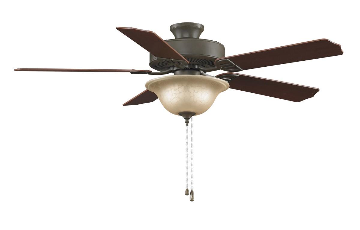 Fanimation Aire Decor Bronze Ceiling Fan Amber LED
