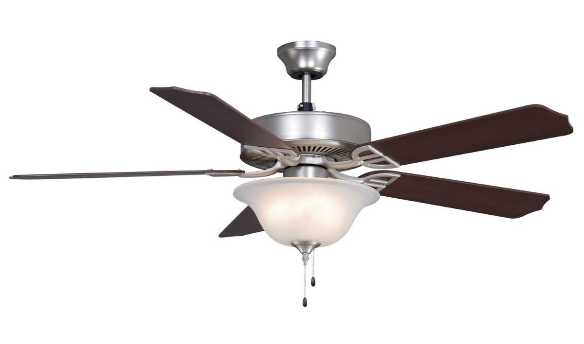 Fanimation Aire Decor Nickel Ceiling Fan LED