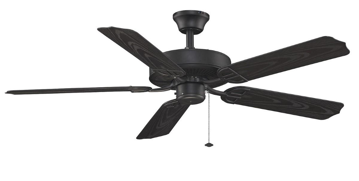 Fanimation Aire Decor Black Ceiling Fan