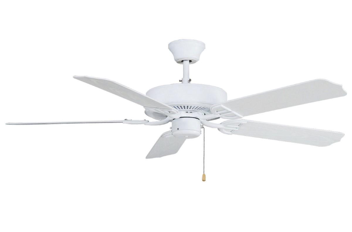 Fanimation Aire Decor Damp White Ceiling Fan