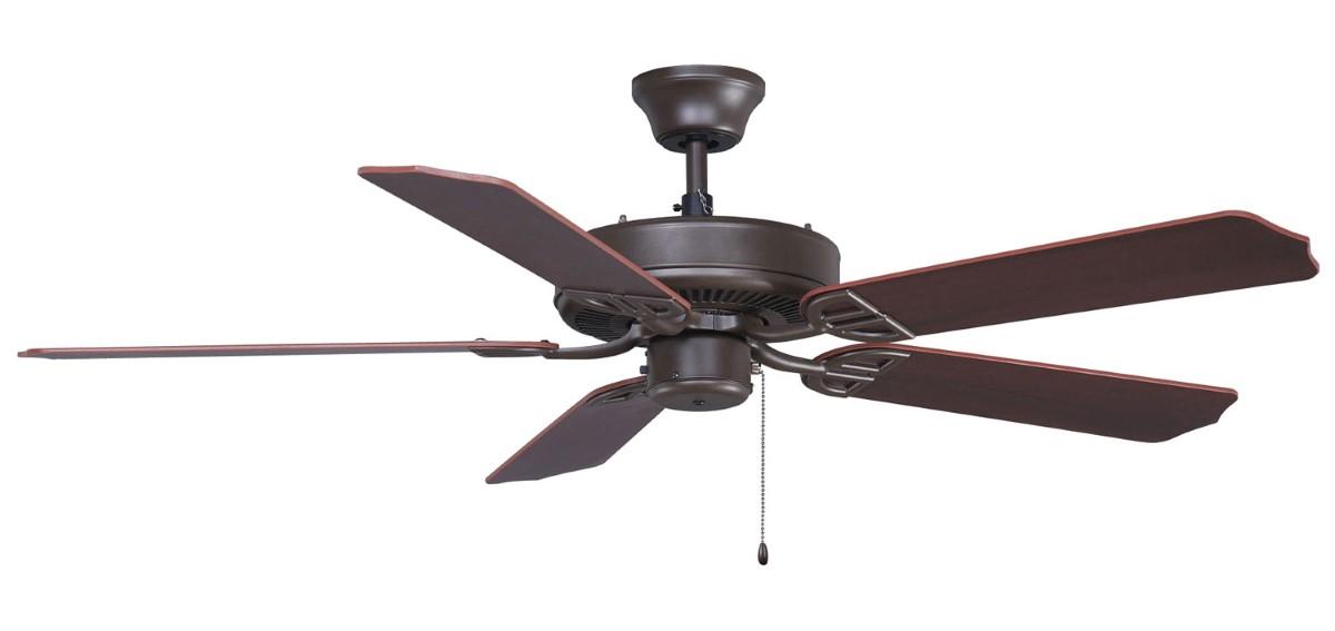 Fanimation Aire Decor Bronze Ceiling Fan Walnut
