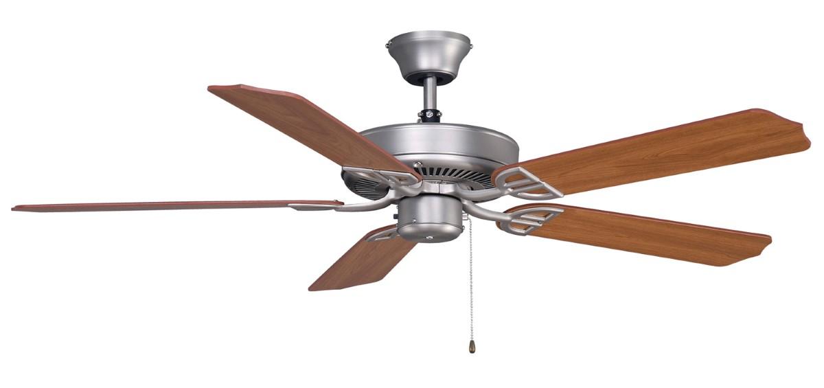 Fanimation Aire Decor Damp Nickel Ceiling Fan