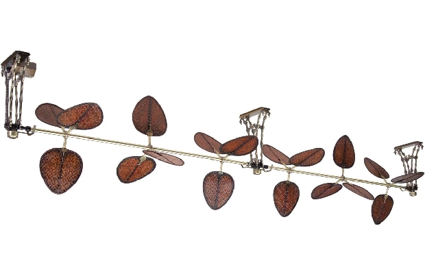 Fanimation Palmetto 220v Specialty Antique Brass Ceiling Fan Component (FP601AB-220)