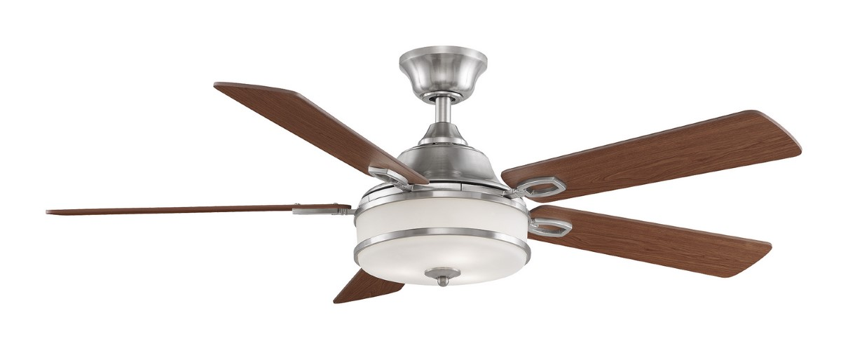Fanimation Stafford Brushed Nickel Ceiling Fan