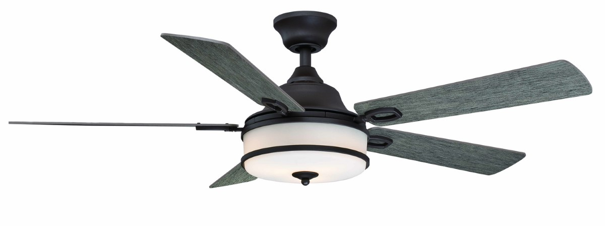 Fanimation Stafford Matte Greige Ceiling Fan