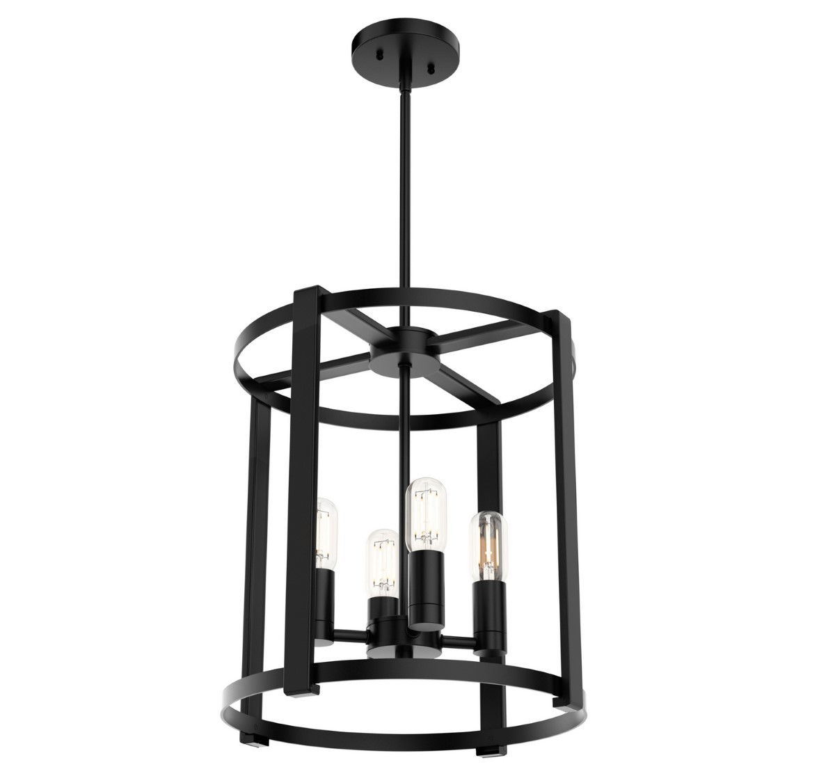Hunter Astwood Chandelier - Matte Black (19003)
