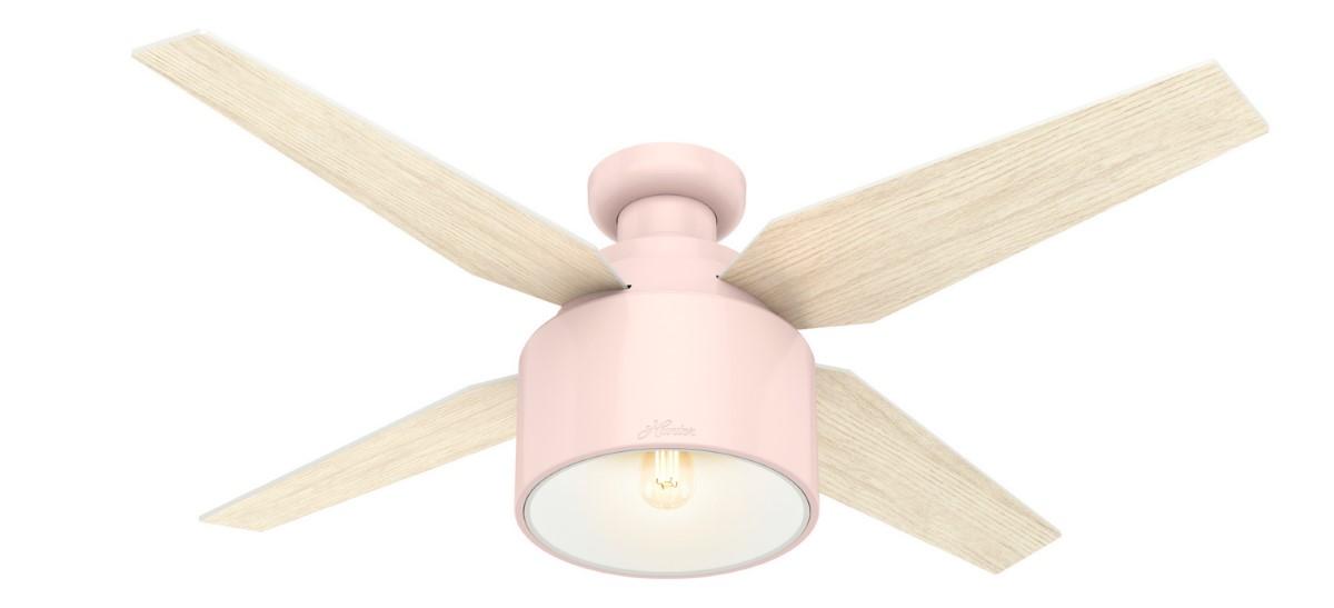 Hunter Cranbrook Low Profile Pink Ceiling Fan