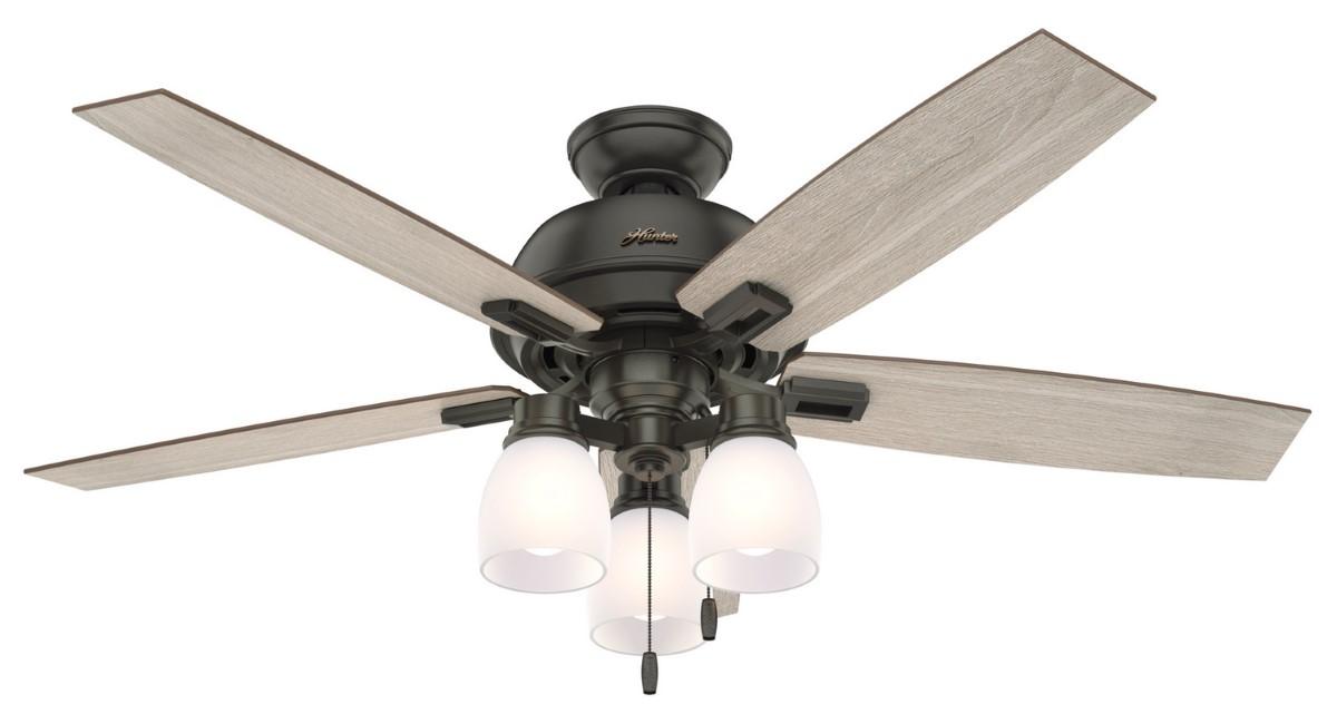 Hunter Donegan 52 Noble Bronze Ceiling Fan