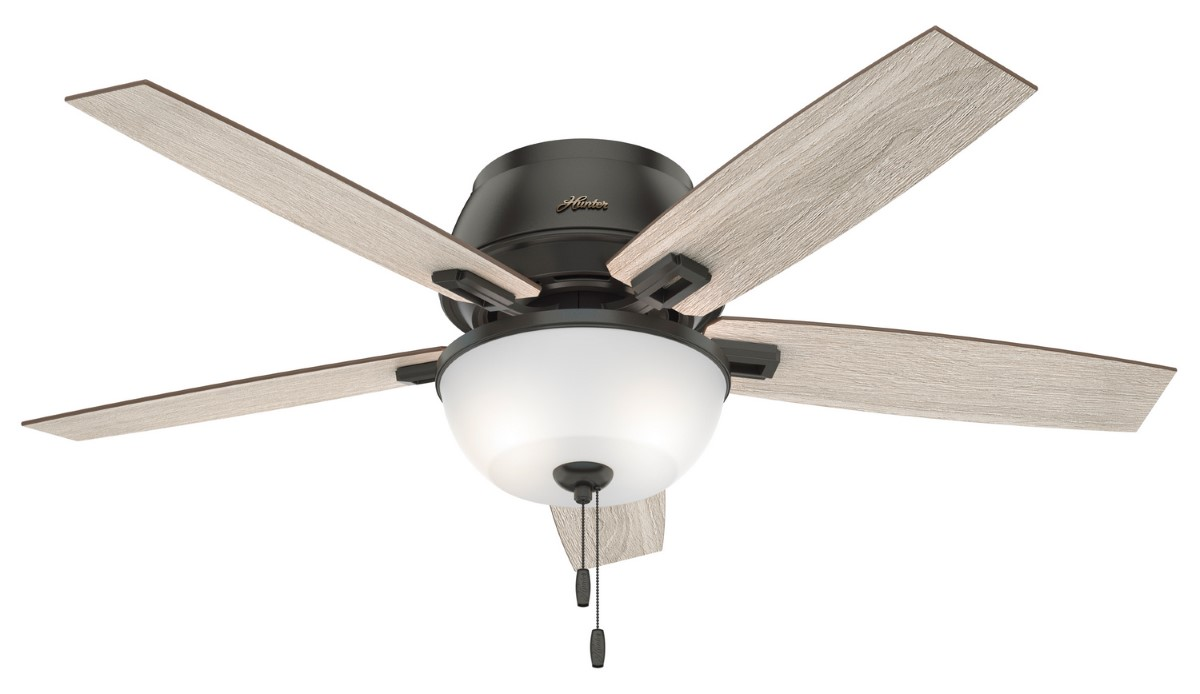 Hunter Donegan Low Profile Bronze Ceiling Fan