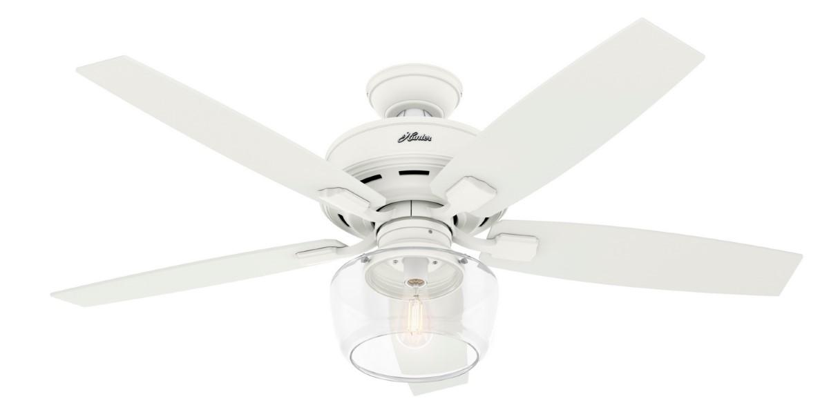 Hunter Bennett 52 White Ceiling Fan LED
