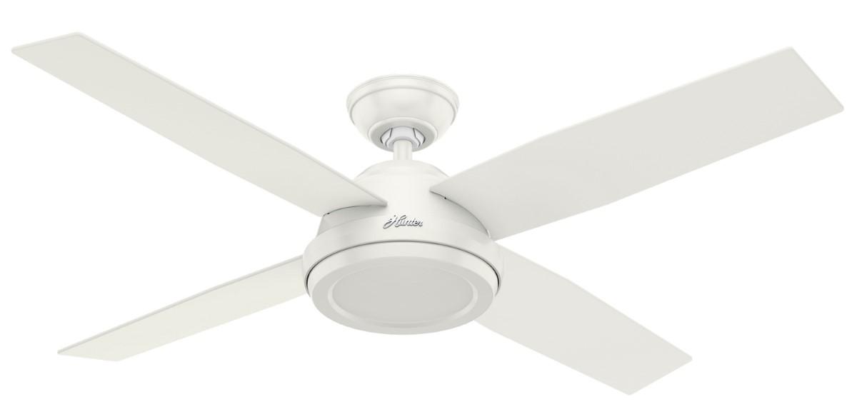 Hunter Dempsey 52 White Ceiling Fan