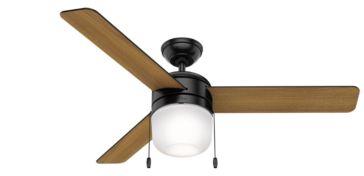 Hunter Acumen 52 Matte Black Ceiling Fan