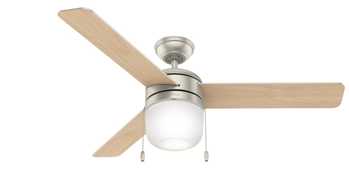 Hunter Acumen 52 Matte Nickel Ceiling Fan