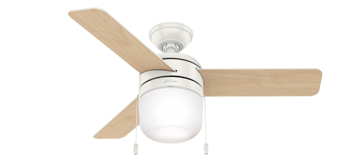 Hunter Acumen 42 Fresh White Ceiling Fan