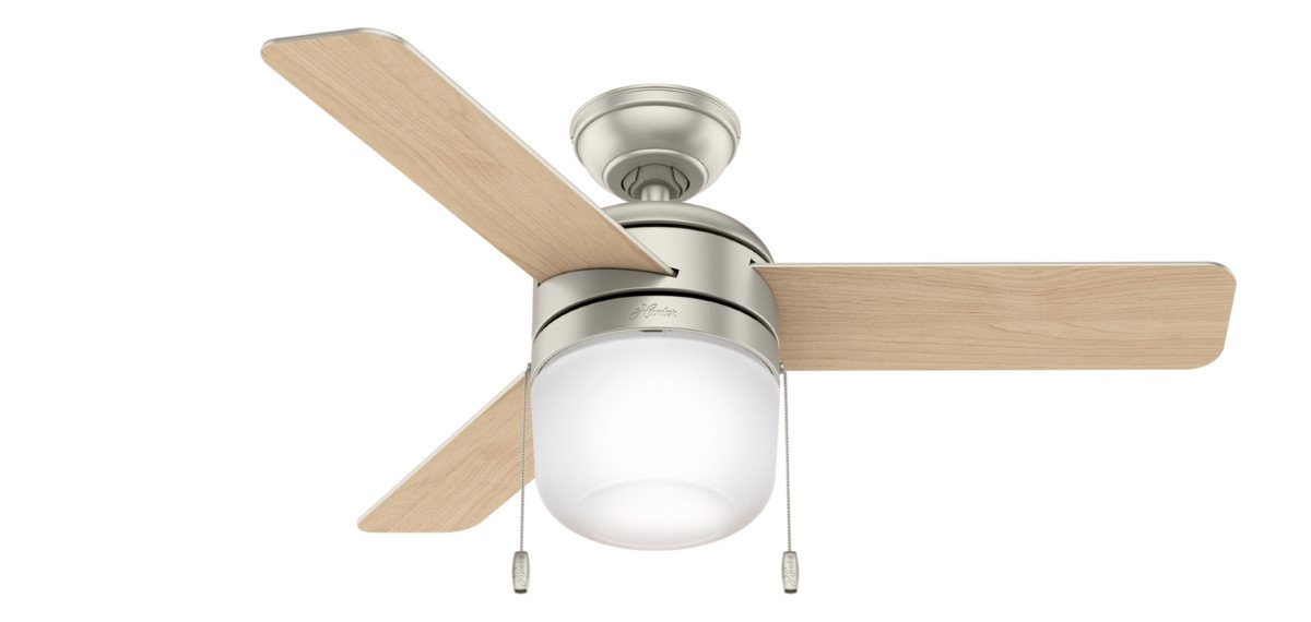 Hunter Acumen 42 Matte Nickel Ceiling Fan