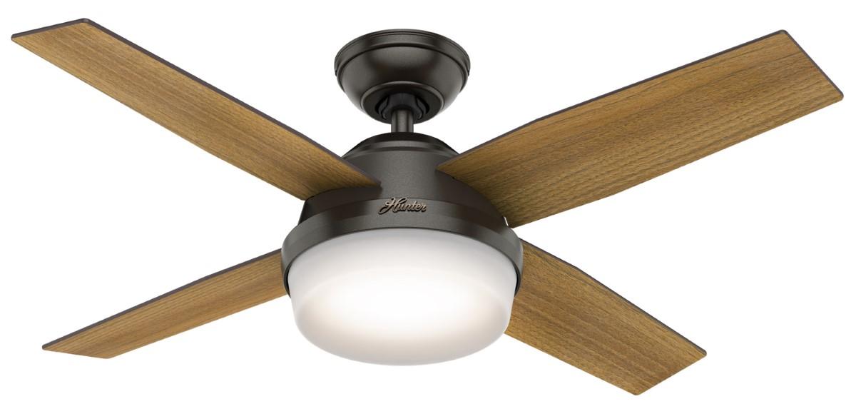 Hunter Dempsey 44 Noble Bronze Ceiling Fan