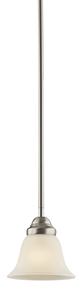 Kichler Wynberg Wynberg Pendant Light with Satin Etched Steel Shade - Brushed Nickel (2693NI)
