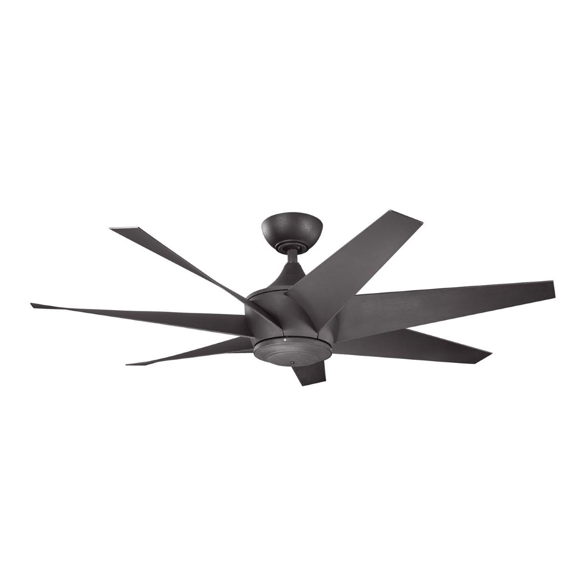 Kichler Lehr II Black Ceiling Fan