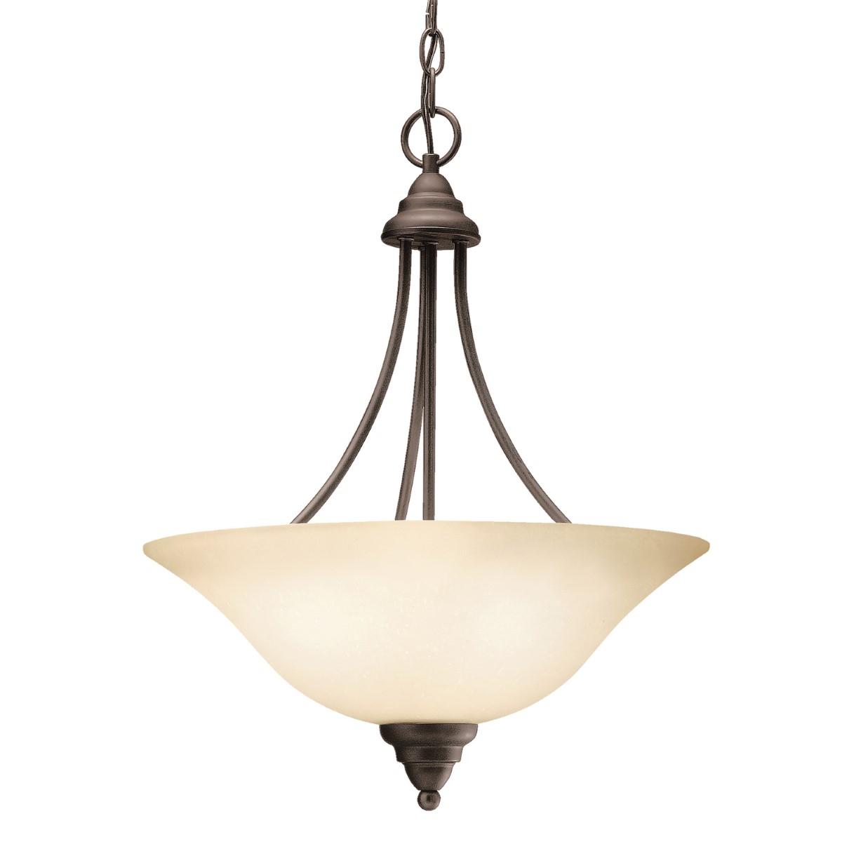 Kichler Telford Telford Pendant Light with Umber Etched Steel Shade - Olde Bronze (3277OZ)