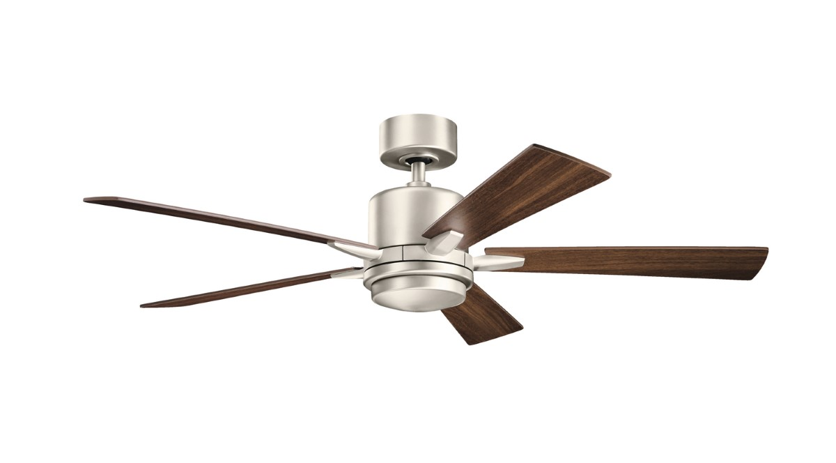 Minka Aire Delano 52 Quot Pewter Ceiling Fan With Light