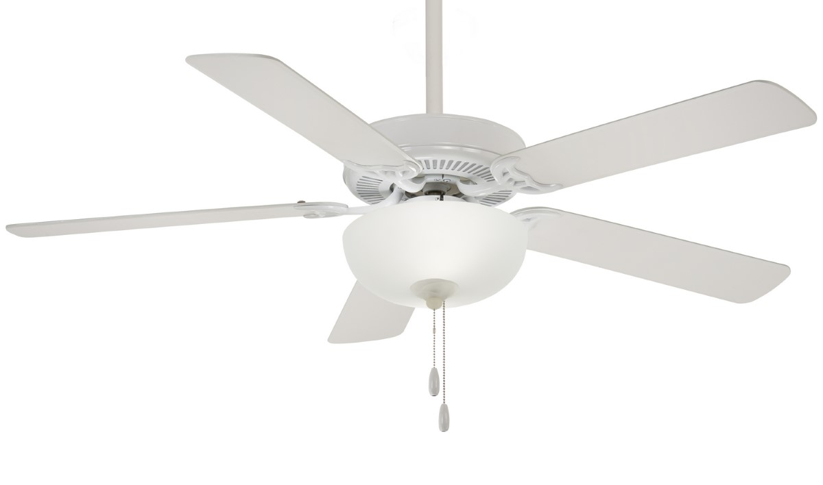 Minka Aire Contractor White Ceiling Fan LED